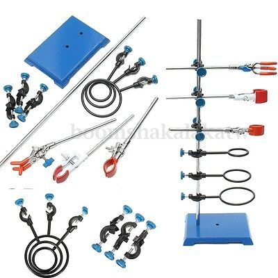 Laboratory Stands+support Lab Clamp+flask clamp+condenser clamp+stands 600mm NJ1