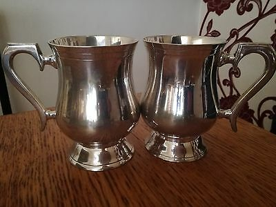 Silver Plated Epns 1Pt Tankards Made In India