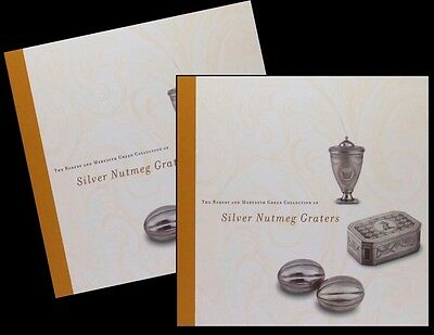 2 Copies of: Antique English Silver Nutmeg Graters- Green Collection Catalog