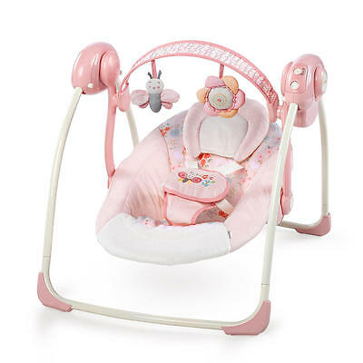 Ingenuity Soothe 'n Delight Portable Swing - Felicity Floral