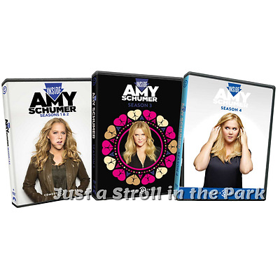 Inside Amy Schumer: Complete TV Series Seasons 1 2 3 4 Box / DVD Set(s) NEW!