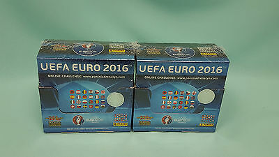 Panini Adrenalyn XL Euro 2016 wie 2 x Display / 100 Booster  France Uefa EM