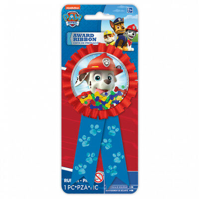 Paw Patrol Confetti Pouch Party Award Ribbon