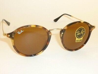New RAY BAN Sunglasses Tortoise Frame RB 2447 1160 B-15 Glass Brown Lenses f485047eee