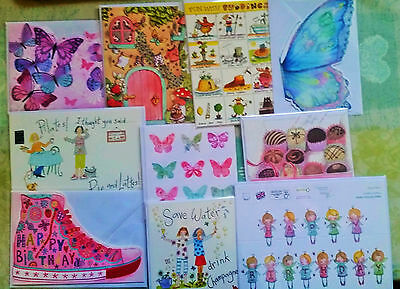 Phoenix Trading Assorted Birthday/greeting Cards Bundle Male/female X 10