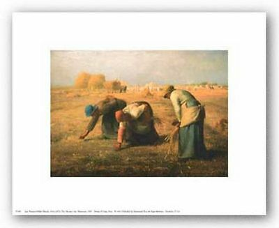 PASTORAL ART PRINT The Gleaners Jean Francois Millet 5x7
