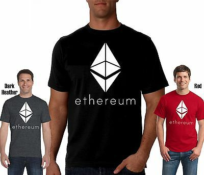 Ethereum Logo Shirt New (Bitcoin, Blockchain, Mining, Coin, Token, Ether Tshirt)