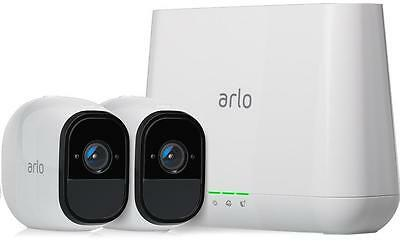 Netgear Arlo Pro Smart Security System with 2 Cameras (VMS4230) 100% Wire-Free