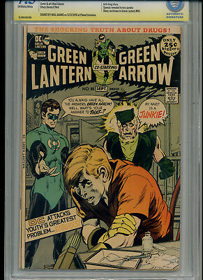 Green Lantern 1971 #85 Cbcs 7.5 Vf- (Like Cgc) Neal Adams Signature Arrow Drug