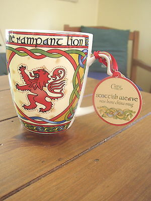 Scottish Rampant Lion Bone China Mug from Clara