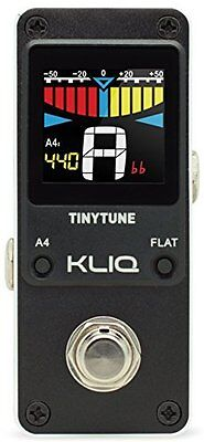Tinytune Mini Guitar & Bass Pedal For Speedy Tuning W/ A1 Precision