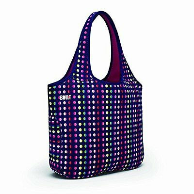 Neoprene Tote Bag - Stylish Stretchy and Durable Bag Dot Number 9 by Built
