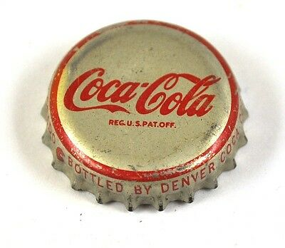 Coca-Cola Coke Kronkorken USA Soda Bottle Cap Korkdichtung - Denver roter Rand