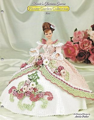 ROSE Annie's Glorious Gowns FLOWER GARDEN COLLECTION Crochet Pattern