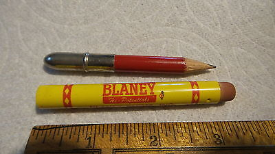 Vintage Advertising BULLET PENCIL, BLANEY FARMS, MADISON, WISCONSIN, Seed Corn