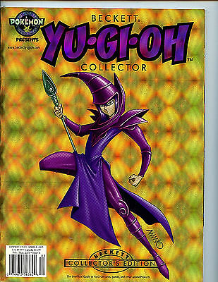 Beckett Yu Gi Oh Collector Magazine Issue #4 nm-m new unread 2003 Guide H27