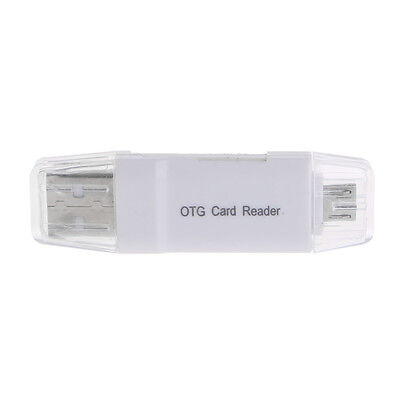 2in1 Card Reader Micro USB OTG to USB 2.0 Computer Adapter For Micro SD TF Card