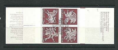 Iceland 1987 Guardian Spirits Booklet SG702a very fine cds used