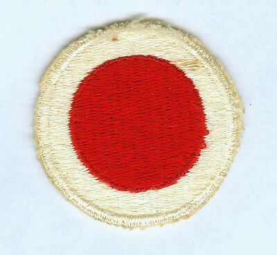 Ww2 Us Army 37Th Infantry Division Cut Edge Snow Back Ssi Patch