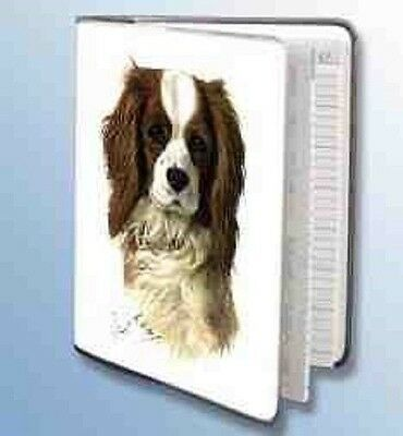 Retired CAVALIER KING CHARLES Softcover Address Book by Robert May