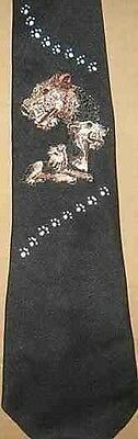 Mens Necktie AIREDALE TERRIER Hand-decorated Nice Quality