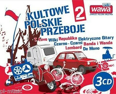 KULTOWE POLSKIE PRZEBOJE vol.2 / / 3CD box /sealed from Poland