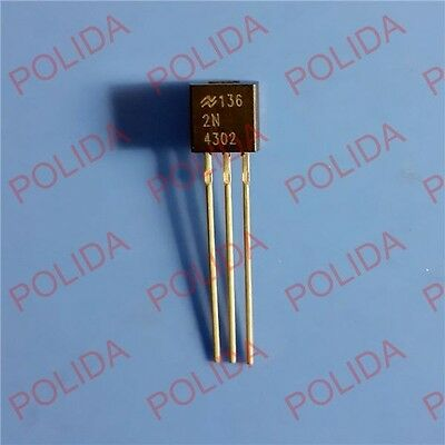 5PCS Transistor NSC TO-92 2N4302