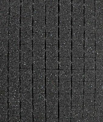 "Pick and Pluck Charcoal Foam 10.5"" X 7"" X 2"" with 1/2"" pull apart grid"