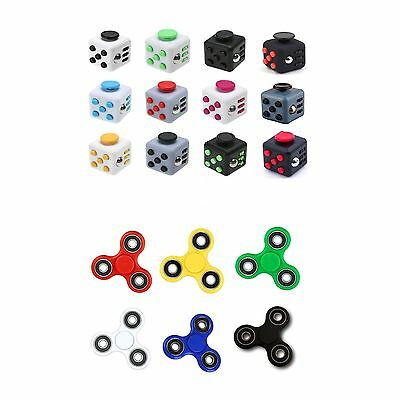 Fidget Cube Spinner Desk Toy Children Anxiety Adults Stress Relief Cubes ADHD