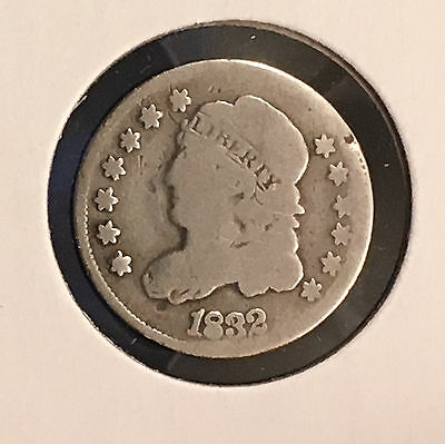 1832 H10C Capped Bust Half Dime [Auto Comb. Shipping](25979)