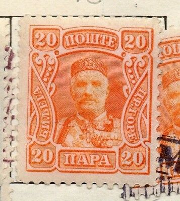 Montenegro 1905 Early Issue Fine Mint Hinged 20pa. 147317