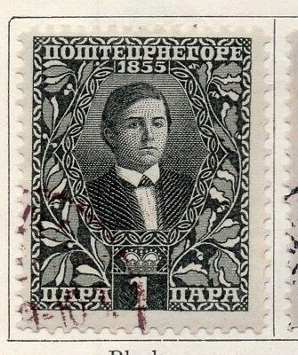 Montenegro 1910 Early Issue Fine Used 1pa. 147325