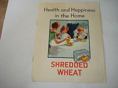 NABISCO BISCUIT Co SHREDDED WHEAT  cereal Triscuit UNEEDA BAKERS c1920 Recipes !