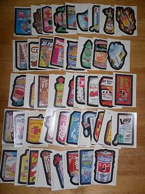 Wacky Packages 1985 Series 44 Card Complete Set Ex/nm