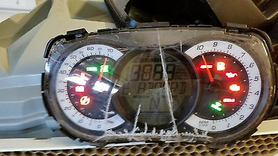 SEADOO CLUSTER GTX RXT WAKE PRO 215 260 Cracked Screen but works 278002468
