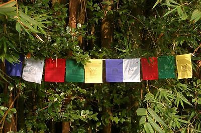 Zambala Tibetan Prayer Flags From Nepal Set Of 10 Flags