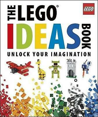 NEW The Lego Ideas Book By DK Publishing Hardcover Free Shipping