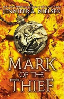 NEW Mark of the Thief By Jennifer,A Nielsen Paperback Free Shipping