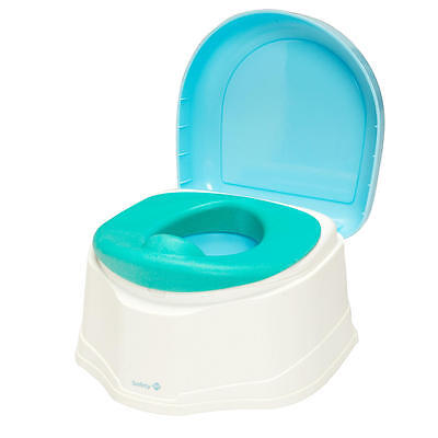 Safety 1st Clean Comfort 3-in-1 Potty Trainer - Teal