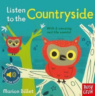 NEW Listen to the Countryside By Marion Billet Novelty Book Free Shipping