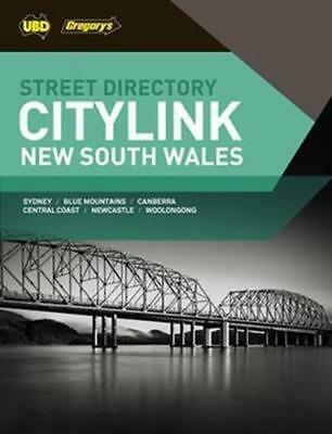 NEW New South Wales City Link Street Directory 27th ed By UBD Gregorys Paperback