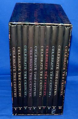 USPS Celebrate The Century 10 Vol Book Set 10 Sealed Sheets/Panes US Collection
