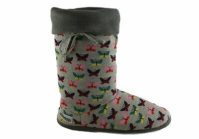New Grosby Butterfly Hoodie Womens Boots/slippers