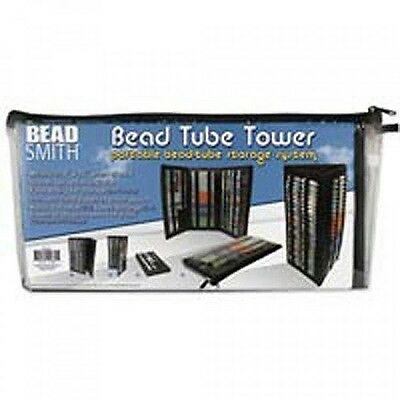Bead Tube Tower (Holds Round Tubes) Black BTW1 by Beadsmith
