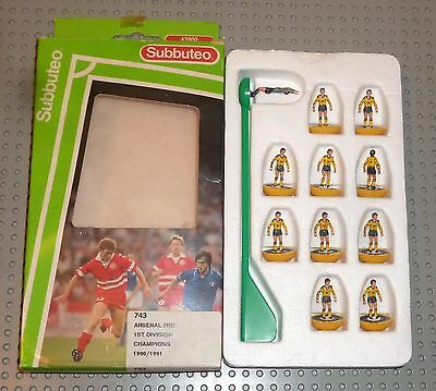 "SUBBUTEO Light Weight team ""Arsenal 2nd"" no. 743"