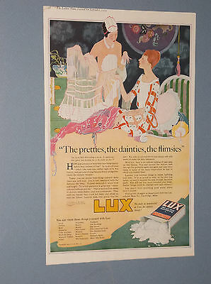 4 1919-1922 Lux Soap Large Ads Art Deco Style Ads