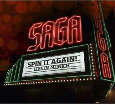 Saga - Spin It Again - Live in Munich [New CD]