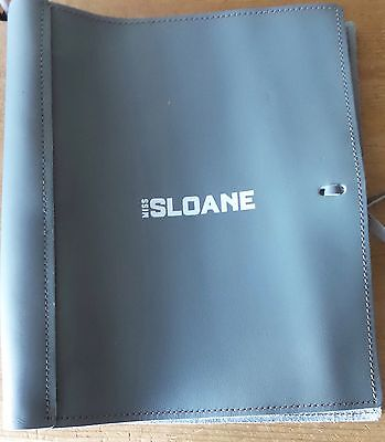 Miss Sloane Hand Signed Movie Screenplay Script  Fyc For Your Consideration