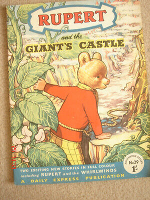 Rupert Adventure Series 29 Giant's Castle & Whirlwinds very good, no damage pen