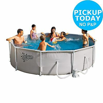 Round Frame Pool - 10ft - White. From the Official Argos Shop on ebay